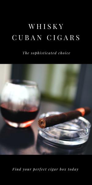 Whisky Cuban Cigars